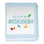 Meshuggah baby blanket