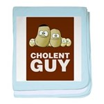 Cholent Guy 2 baby blanket
