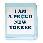 I Star of David NY baby blanket