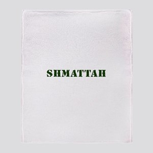 Shmattah - Rag Throw Blanket