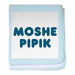 Jewish - Moshe Pipik - baby blanket