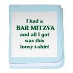 Jewish - Bar Mitzvah Gift - baby blanket