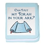 Can I put my Torah in your Ar baby blanket