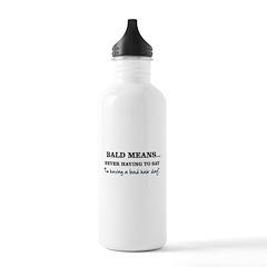 Bald Means... Water Bottle