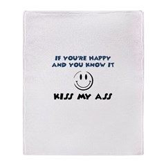If You're Happy and You Know Throw Blanket