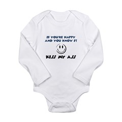 If You're Happy and You Know Long Sleeve Infant Bo