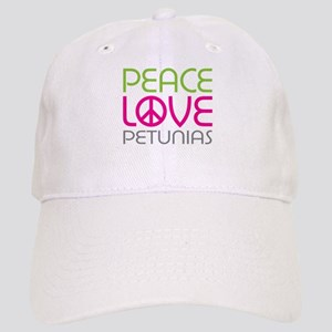 Peace Love Petunias Cap