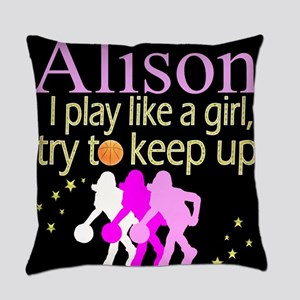 PLAY BASKETBALL Everyday Pillow