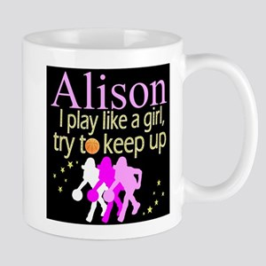 PLAY BASKETBALL 11 oz Ceramic Mug