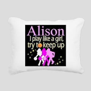 PLAY BASKETBALL Rectangular Canvas Pillow