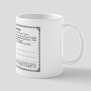 Home Town Coolidge Club Mug