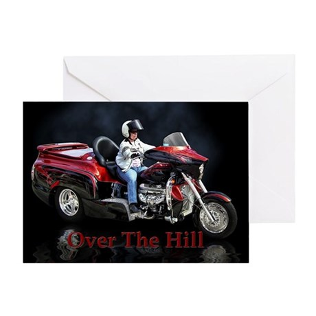 Over The Hill Birthday Card By Ratrodstudios