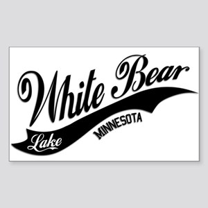 White Bear Lake, MN Sticker (Rectangle)
