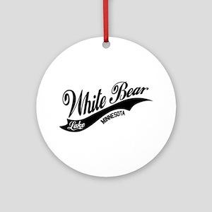 White Bear Lake, MN Ornament (Round)