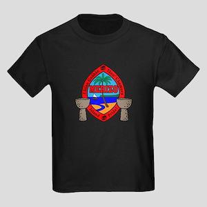 Guam Seal Kids Dark T-Shirt