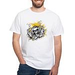 Skull Crossing White T-Shirt