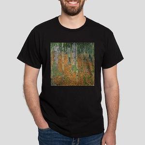 The Birch Wood by Gustav Klimt T-Shirt