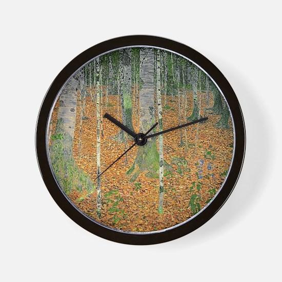 Unique Klimt Wall Clock