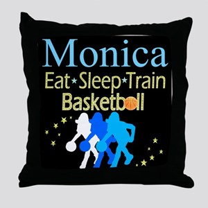 PLAY BASKETBALL Throw Pillow