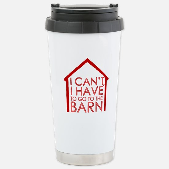 To The Barn Stainless Steel Travel Mug