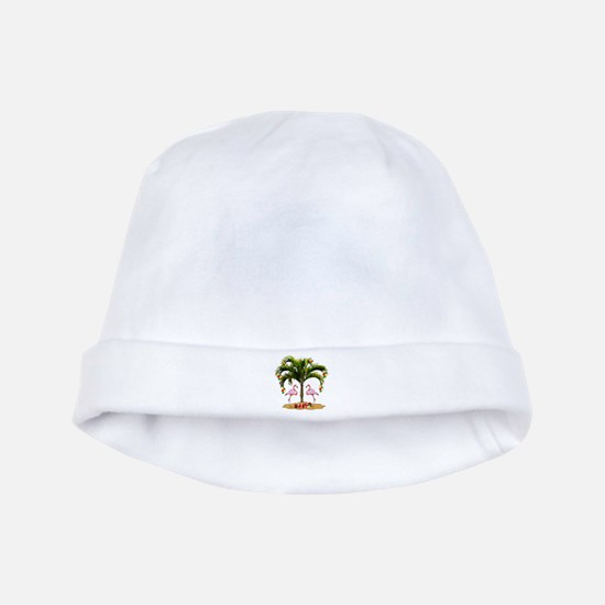 Tropical Holiday baby hat