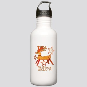 Reindeer Stainless Water Bottle 1.0L