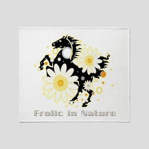 Frolic in Nature Throw Blanket