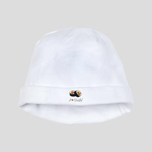 Sushi baby hat