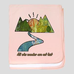 Wander baby blanket
