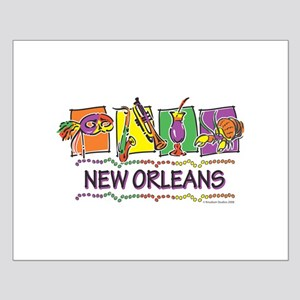 New Orleans Squares Small Poster