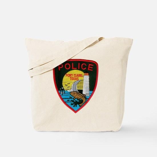 Port Isabel Police Tote Bag