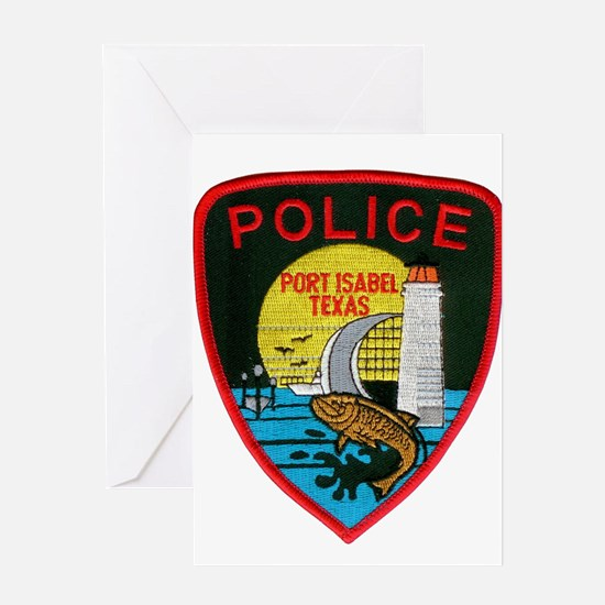 Port Isabel Police Greeting Card