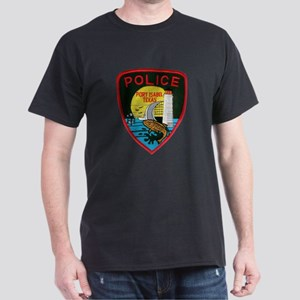 Port Isabel Police Dark T-Shirt