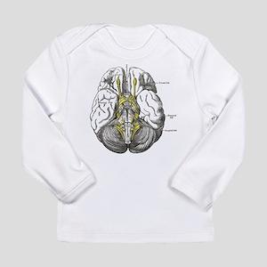 Brain Long Sleeve Infant T-Shirt