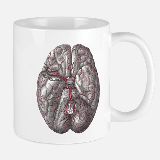 Gray's Anatomy Brain Mug