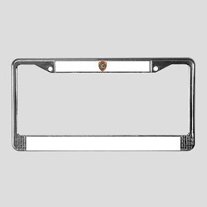 Punta Gorda Police Dept. License Plate Frame