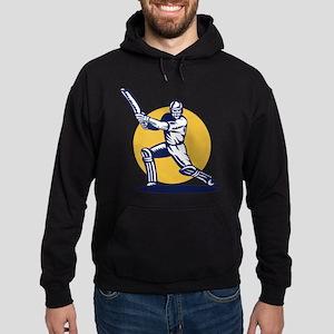 cricket sports player Hoodie (dark)