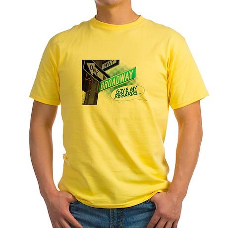 Give my Regards Yellow T-Shirt
