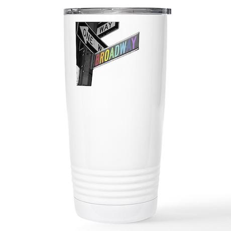 Broadway Stainless Steel Travel Mug