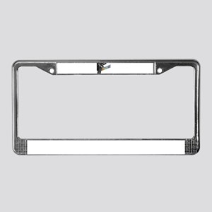 Broadway License Plate Frame