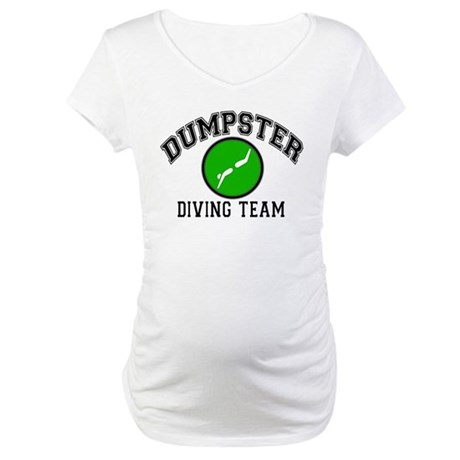 Diving Team Maternity T-Shirt