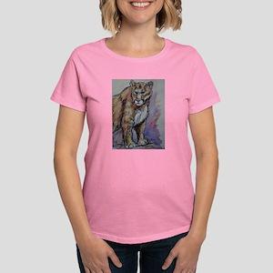 Mountain Lion, Stunning, Women's Dark T-Shirt