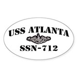 USS ATLANTA Sticker (Oval)