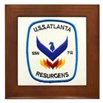 USS ATLANTA Framed Tile