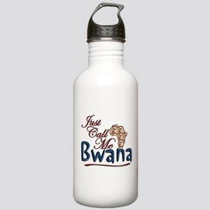 Just Call Me Bwana - Stainless Water Bottle 1.0L