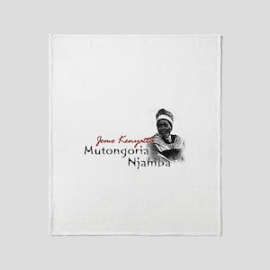 Mutongoria Njamba - Throw Blanket