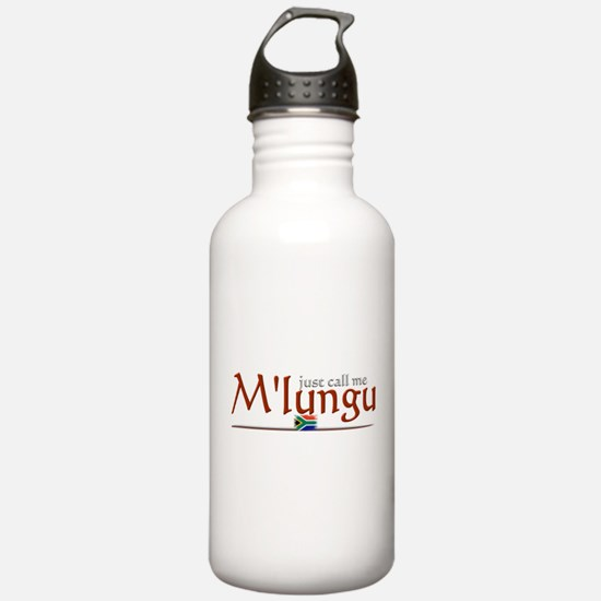 Just Call Me M'lungu - Water Bottle