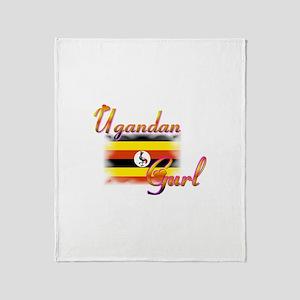 Uganda Gurl - Throw Blanket