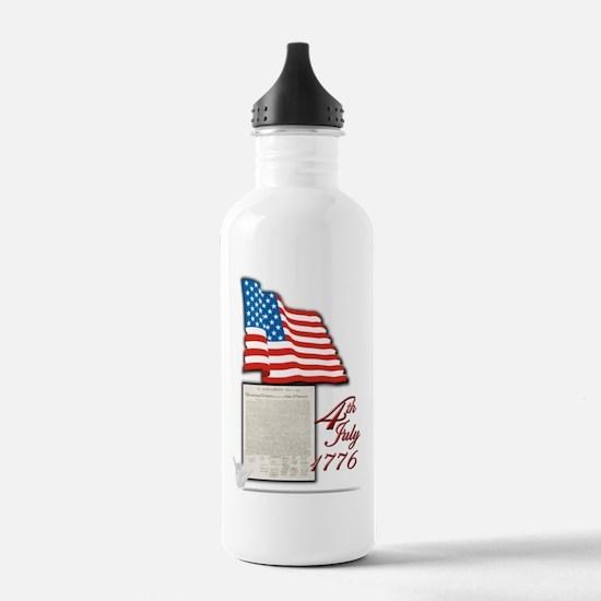 4th July 1776 - Water Bottle