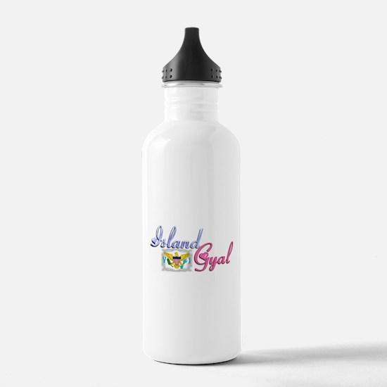 USVI Island Gyal - Water Bottle